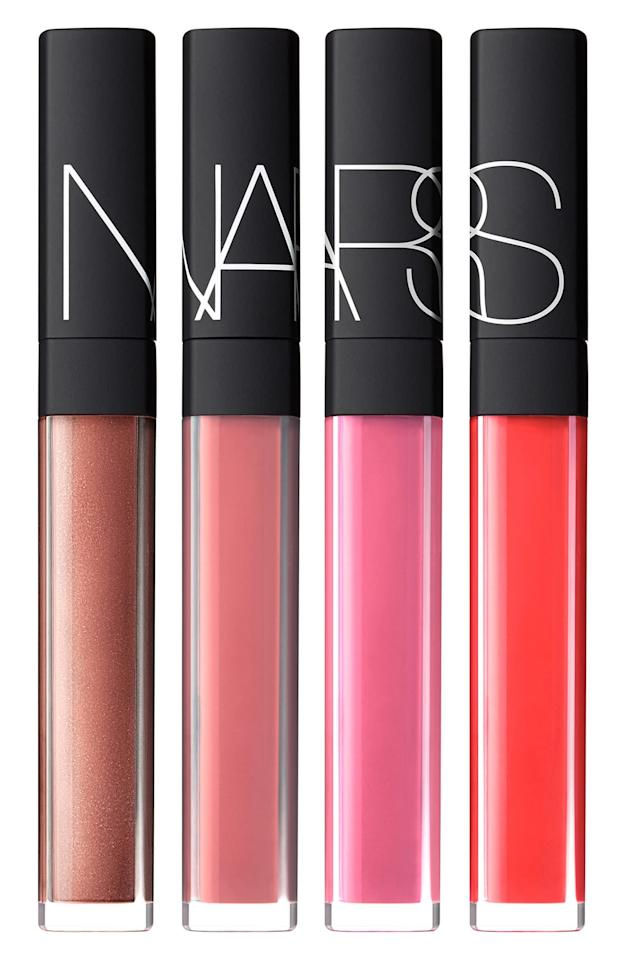 """<p><strong>Nars</strong></p><p>nordstrom.com</p><p><a href=""""https://go.redirectingat.com?id=74968X1596630&url=https%3A%2F%2Fshop.nordstrom.com%2Fs%2Fnars-hot-tropic-full-size-lip-gloss-set-96-value%2F5257851&sref=http%3A%2F%2Fwww.townandcountrymag.com%2Fstyle%2Fbeauty-products%2Fg28439275%2Fnordstrom-anniversary-sale-beauty-2019%2F"""" target=""""_blank"""">Shop Now</a></p><p>$39</p><p><em>A $96 value.</em></p>"""