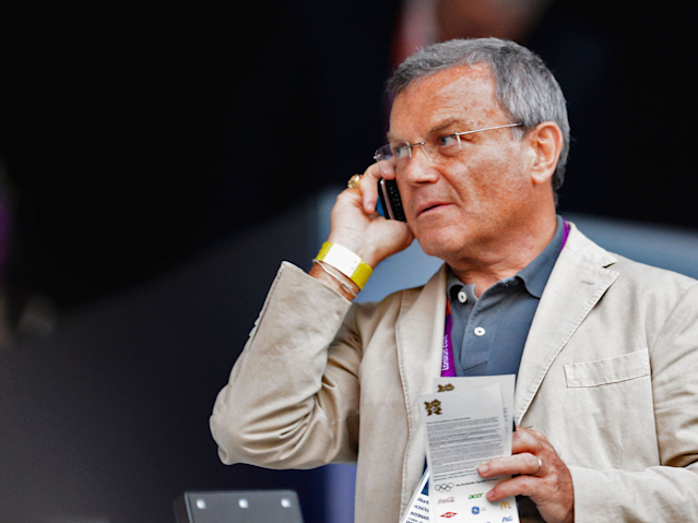 Sir Martin Sorrell, former chief executive officer of WPP Group during the Opening Ceremony of the London 2012 Olympic Games at the Olympic Stadium on July 27, 2012 in London, England.