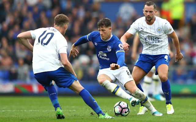 <span>Ross Barkley tries to break clear for Everton</span>