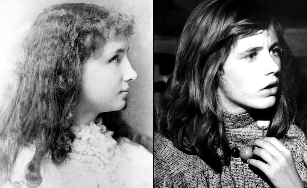 """HELEN KELLER -- Deafblind Activist  Played by: <a href=""""http://movies.yahoo.com/movie/contributor/1800011491"""">Patty Duke</a> in <a href=""""http://movies.yahoo.com/movie/1800095871/info"""">The Miracle Worker</a> (1962)   Helen Keller was the first deafblind person ever to earn a Bachelor degree. Her intelligence and sheer determination made her a celebrity during her time. She met every president from Grover Cleveland to Lyndon B. Johnson, and counted Mark Twain, Alexander Graham Bell, and <a href=""""http://movies.yahoo.com/movie/contributor/1800023449"""">Charlie Chaplin</a> as close friends."""