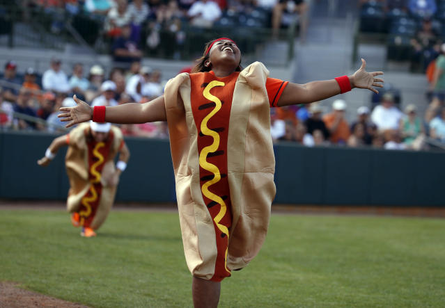 You might be surprised at where hot dogs ranks on our list. (AP Photo)