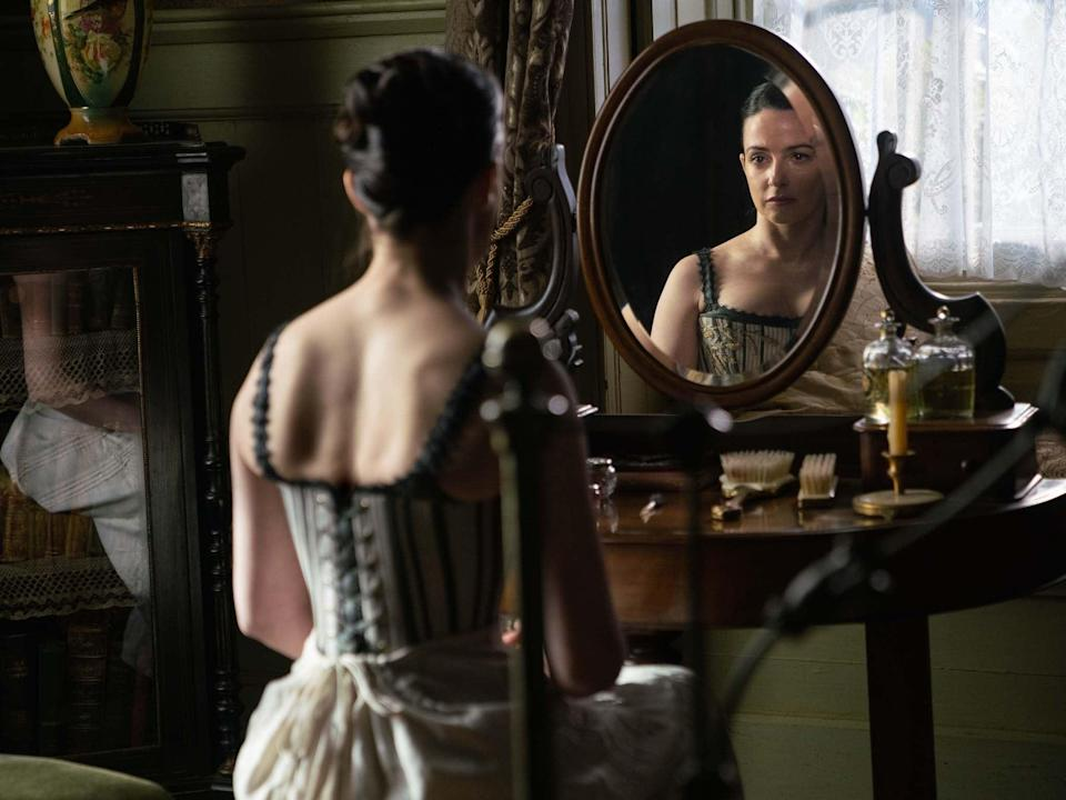<p>Never, Never land: Laura Donnelly as Amelia True in 'The Nevers'</p> (Sky Atlantic)