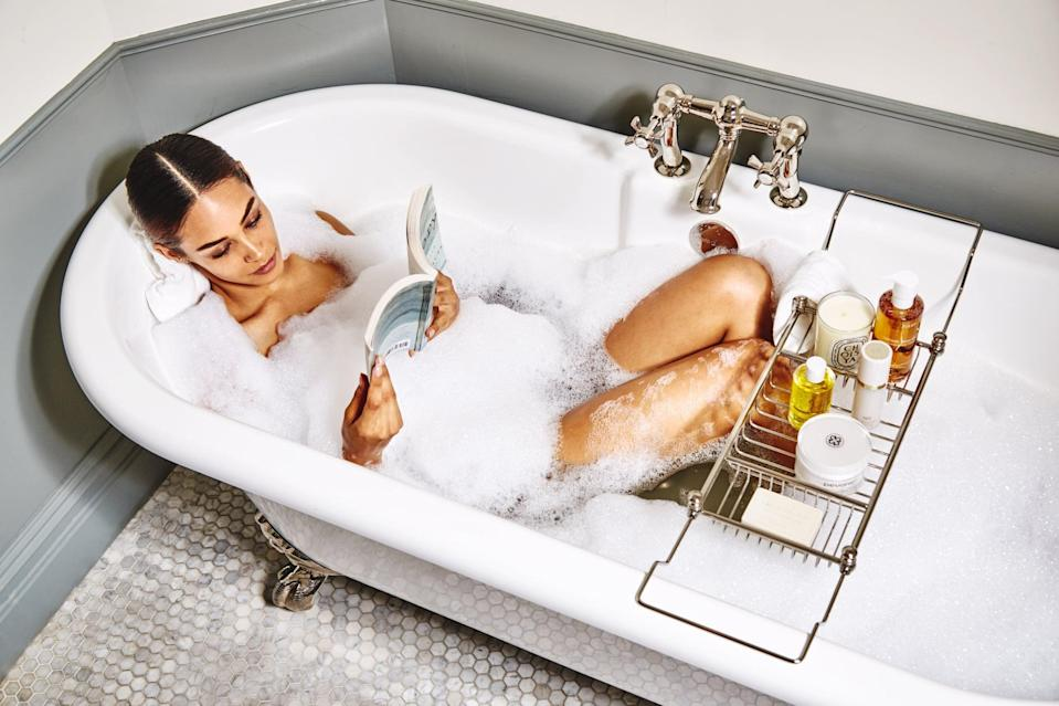 <p>Your self-care-loving friend - you know, the one who never answers their phone because they're soaking in the bathtub with a good book - will be touched by the thoughtfulness behind a personalized care package. </p> <p><strong>What to Include:</strong> Consider picking them out a new face mask that they can indulge in. Then, add in other items like a candle, a fuzzy new robe, a bath soak or bath bomb, and CBD gummies.</p>