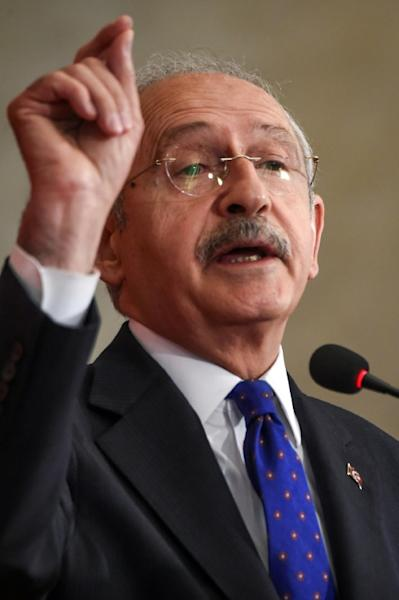Kemal Kilicdaroglu, chief of the opposition Republican People's Party's warns a yes vote could lead to one-man rule and move Turkey away from the founding father's ideals