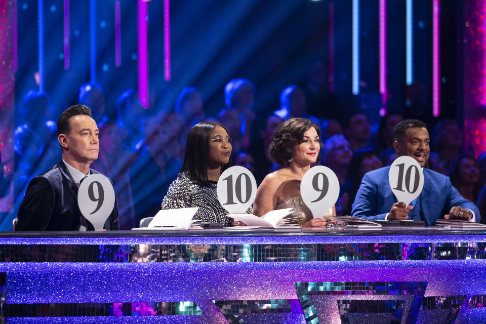 The Strictly judges were all moved by Will Bayley's dance (Credit: BBC)