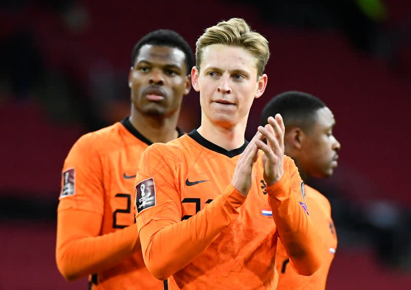 FILE PHOTO: World Cup Qualifiers Europe - Group G - Netherlands v Latvia