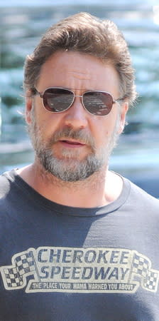 Russell Crowe unrecognised by coast guard rescuers