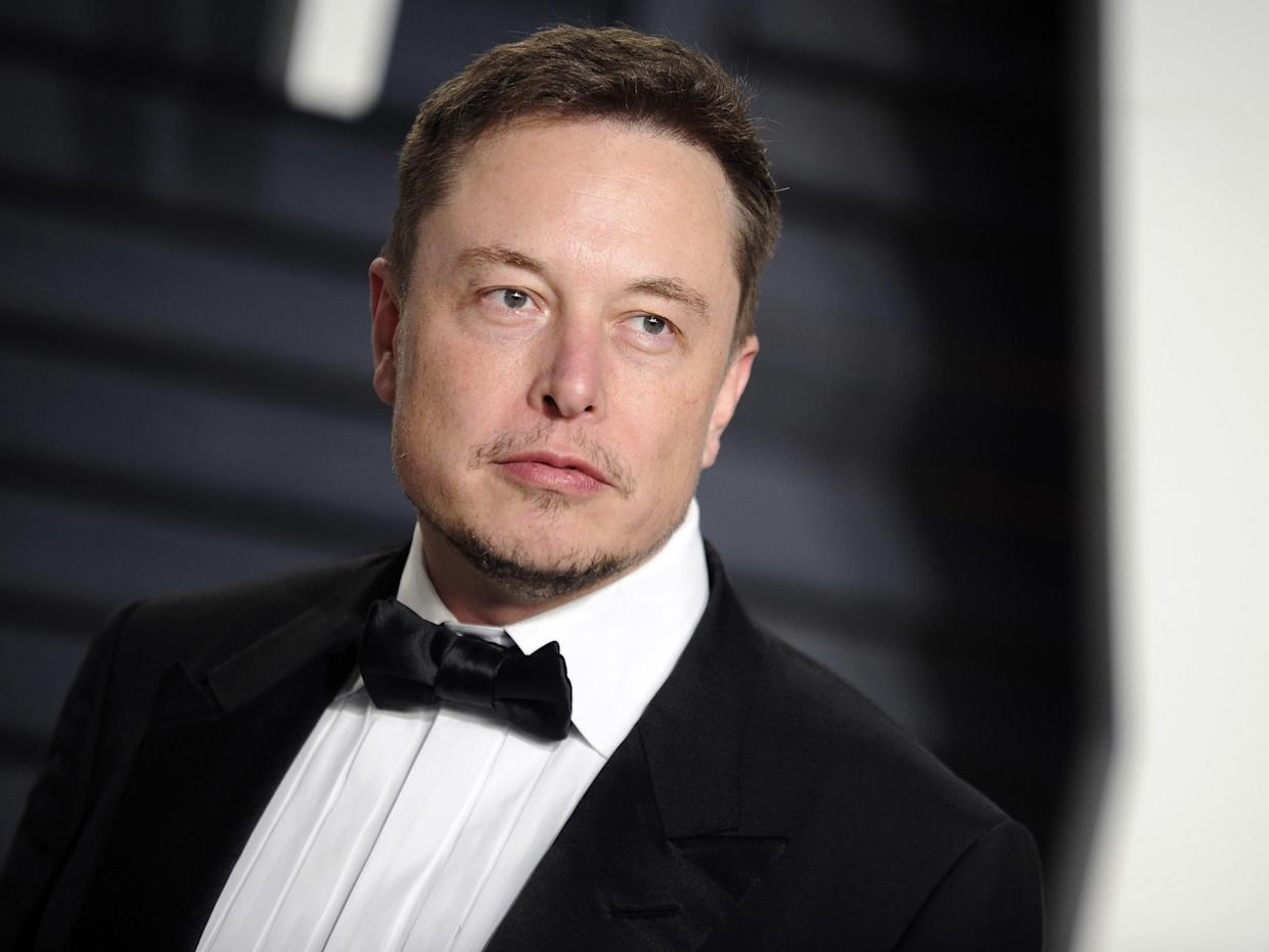 Elon Musk has abandoned plans to take his company private in a $72 Billion deal: Alamy
