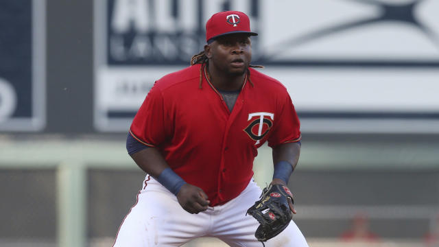Minnesota Twins infielder and DH Miguel Sano has been demoted to Single-A less than a year after he was an All-Star. (AP Photo)