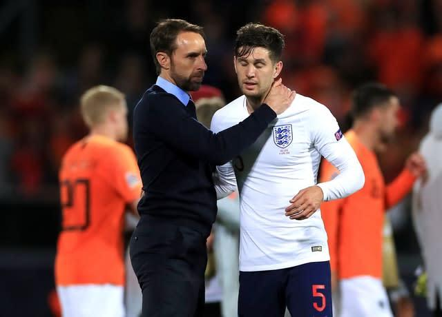 Stones' Nations League performance against Holland raised scrutiny on the centre back (Mike Egerton/PA)