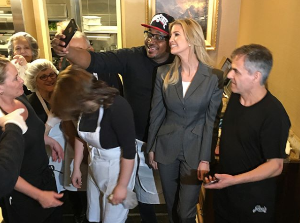 Despite the criticism, some loved Ivanka's pantsuit choice. Photo: Instagram/ivankatrump
