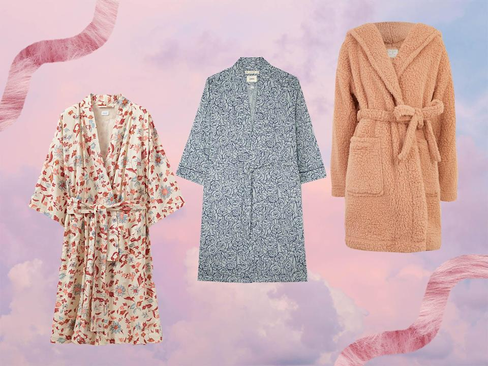 <p>Whether you've just got out of the shower, or you're having a lazy Sunday morning, a good robe will keep you comfortable and snug</p> (The Independent/ iStock)