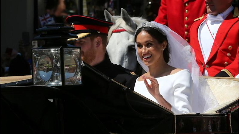 Meghan Markle reveals her clever trick to stay calm at royal wedding