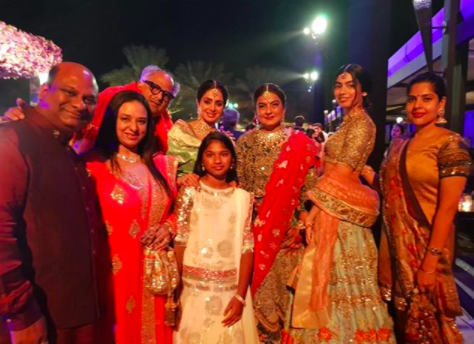 <p>Pics: Sridevi with friends and family </p>