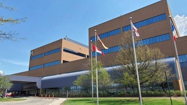 The Campbellton Regional Hospital's obstetrics and gynecology department will be closed for six to eight weeks due to a lack of staff. (Shane Fowler/CBC - image credit)