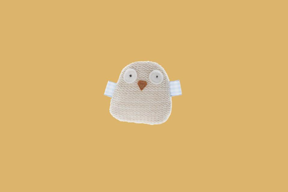 "<p>This charming wool-knit owl is designed with gingham-ribbon wings and filled with poly fibers and catnip.</p> <p><strong><em>Shop Now: </em></strong><em>Mungo and Maud Knitted Owl Cat Toy</em><em>, $26.50, </em><a href=""https://us.mungoandmaud.com/cats/cat-toys/knitted-mouse-cat-toy-18232"" rel=""nofollow noopener"" target=""_blank"" data-ylk=""slk:us.mungoandmaud.com"" class=""link rapid-noclick-resp""><em>us.mungoandmaud.com</em></a><em>. </em></p>"