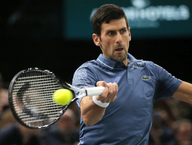 Novak Djokovic and Roger Federer to meet in mouth-watering Paris semi-final