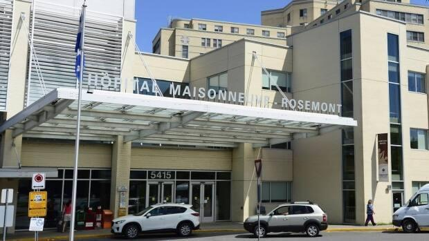 People with medical concerns should avoid the Santa Cabrini and Maisonneuve-Rosemont Hospital emergency rooms until further notice.  (Paul Chiasson/The Canadian Press - image credit)