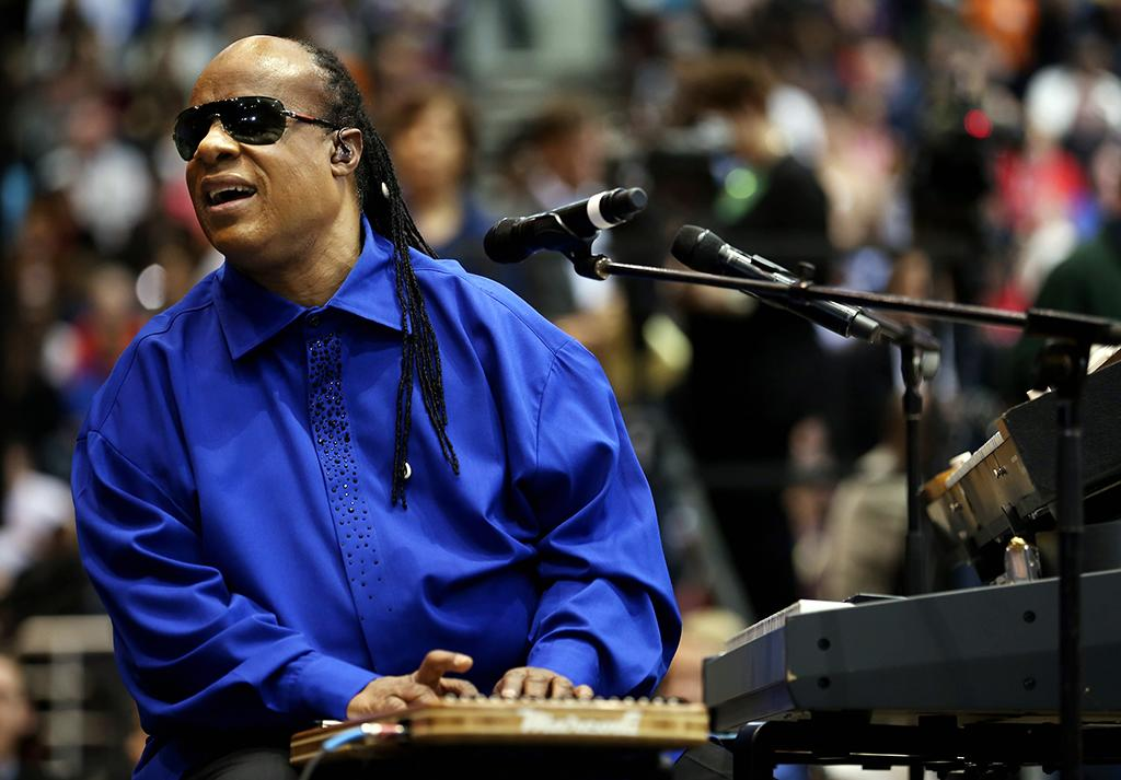 "Stevie Wonder, a 1999 Super Bowl performer, was born Stevland Hardaway Morris. When he was signed as a young Motown musician, a producer gave him the name ""Little Stevie Wonder,"" saying: ""We can't keep calling him the eighth wonder of the world."""