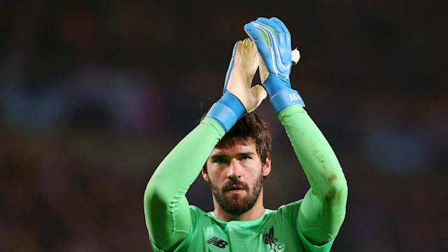 Alisson is pleased to have made history after seeing off competition from Marc-Andre ter Stegen and Ederson to win the Yachine Trophy.