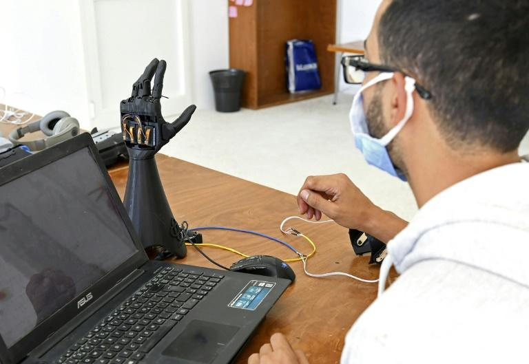 Tunisian startup Cure Bionics are developing a prototype of an artificial hand, which they hope will be more affordable to help amputees and other disabled people