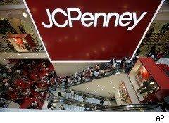 Shoppers at JC Penney