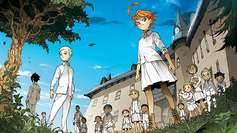 The Promised Neverland on Netflix
