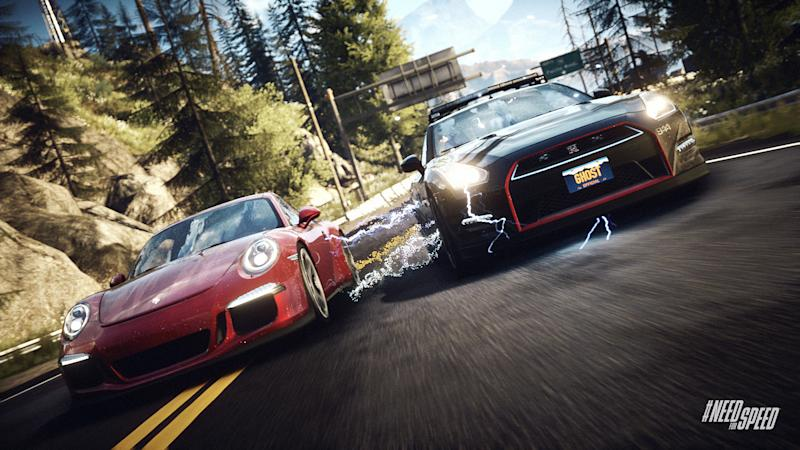 """This photo provided by Electronic Arts shows a scene from the video game, """"Need for Speed: Rivals."""" (AP Photo/Electronic Arts)"""