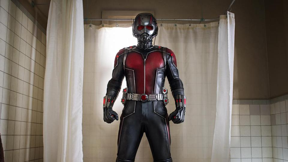 <p> Ant-Man is Marvel's take on the crime caper. Everything about the story is classic heist; the slow-burn, getting-the-team-together characterisation; the single, focused goal; the planning and practice montages. Ant-Man knows all of the genre's clichés, and it makes every one of them absolutely sing. Fundamental to that success is its <em>drastically</em> smaller scale – literally <em>and</em> figuratively. There's no incoming apocalypse here. No grand, villainous plan to change life as we know it. Just an old grudge, a corporate asshole, and a strong focus on the character comedy pushing the whole story forward. And that's why it works! Paul Rudd – an actor previously known more for his comedy chops more than his action attributes – is perfect in the title role. Ant-Man is a breath of fresh air among Marvel's other movies. </p>