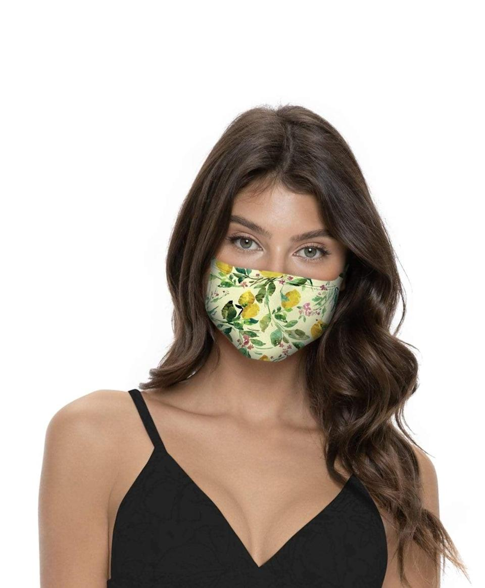 <p>The swimwear line PQ has repurposed their production lines, materials, and resources at this time to combat the spread of the virus. The brand is creating colorful and cute face coverings that are washable and reusable. All the proceeds from the <span>PQ Swim MasQini Face Masks</span> ($12 each) will go towards paying employees, as well as the charity of your choice. Just DM or email the company with your favorite charity, and they will ship free masks to the one of your choosing.</p>