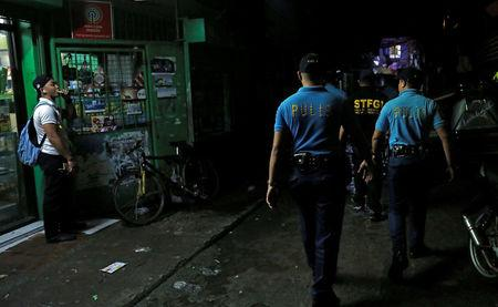 Police force in Manila area relieved of duty