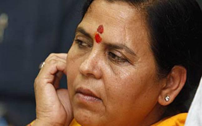 Union Minister Uma Bharti cancels Ayodhya visit after Babri Masjid order but remains unapologetic