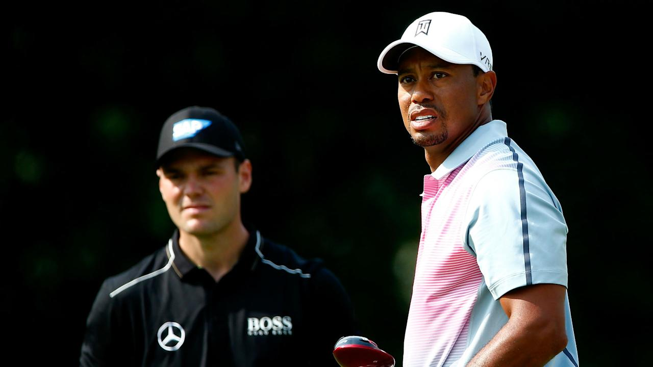 Tiger Woods deserves to be considered in the same terms as late boxing great Muhammad Ali, according to two-time major winner Martin Kaymer.