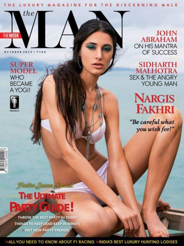 <p><strong>Image courtesy : iDiva.com</strong></p><p><strong>Nargis Fakhri for The Man, October 2013 cover</strong>: The stunning actress sizzled on the cover of The Man in a skimpy white bikini. Her dramatic blue eye make up and messy hair goes with her look.</p><p><strong>Related Articles - </strong></p><p><a href='https://ec.yimg.com/ec?url=http%3a%2f%2fidiva.com%2fphotogallery-style-beauty%2fvote-chitrangda-singh-vs-anushka-sharma-on-july-mag-covers%2f22574%26%23x27%3b&t=1492985660&sig=LgQpQse44aOpwQb1UmFtJA--~C target='_blank'>Vote: Chitrangda Singh Vs Anushka Sharma on July Mag Covers</a></p><p><a href='http://idiva.com/photogallery-style-beauty/vote-sonam-kapoor-vs-deepika-padukone-in-september-mag-covers/24086' target='_blank'>Vote: Sonam Kapoor Vs Deepika Padukone in September Mag Covers</a></p>