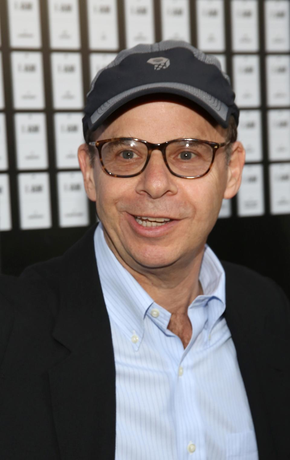 NEW YORK, NY - APRIL 12:  Rick Moranis attends the opening night of 'In & Of Itself' at the Daryl Roth Theatre on April 12, 2017 in New York City.  (Photo by Walter McBride/WireImage)