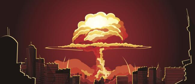 nuclear weapon bomb city war holocaust illustration shutterstock_512126842