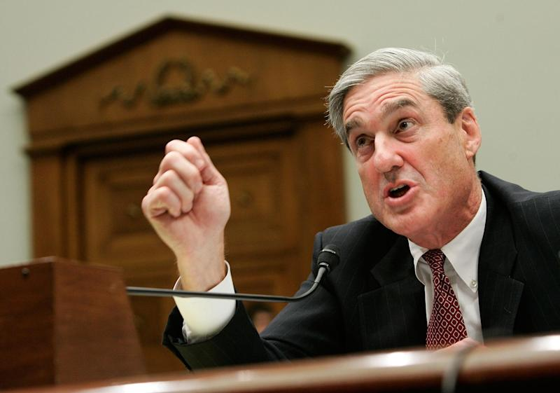 Special Counsel Robert Mueller: Getty Images
