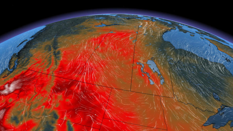 Risk for severe storms on the eastern Prairies, Alberta heats up