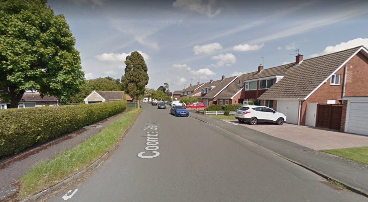 Another of the incidents took place on Coombe Glen Lane, police said. (Google Maps)