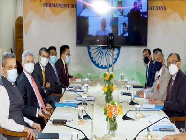 External Affairs Minister (EAM) S Jaishankar on Tuesday had a productive strategy session Ambassador of India at UN T S Tirumurti