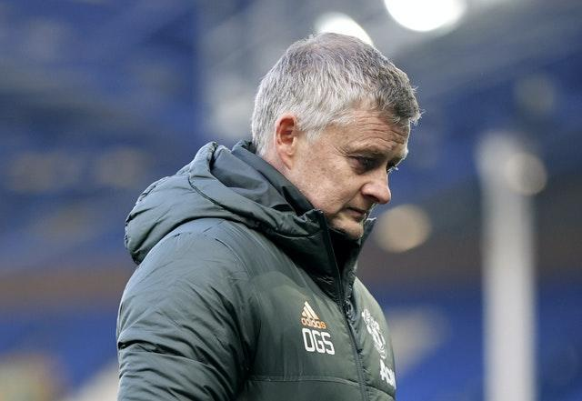 "Ole Gunnar Solskjaer labelled the scheduling of Manchester United's game against Everton as ""a joke"" (Clive Brunskill/PA)."