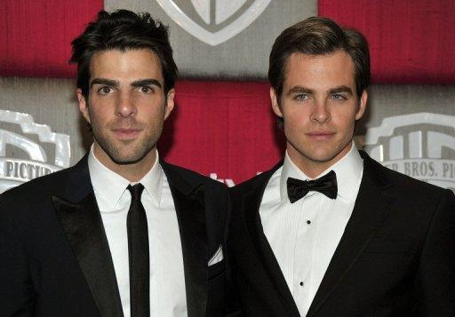 "Chris Pine and Zachary Quinto will reprise their roles from the ""Star Trek"" film directed by J.J. Abrams"