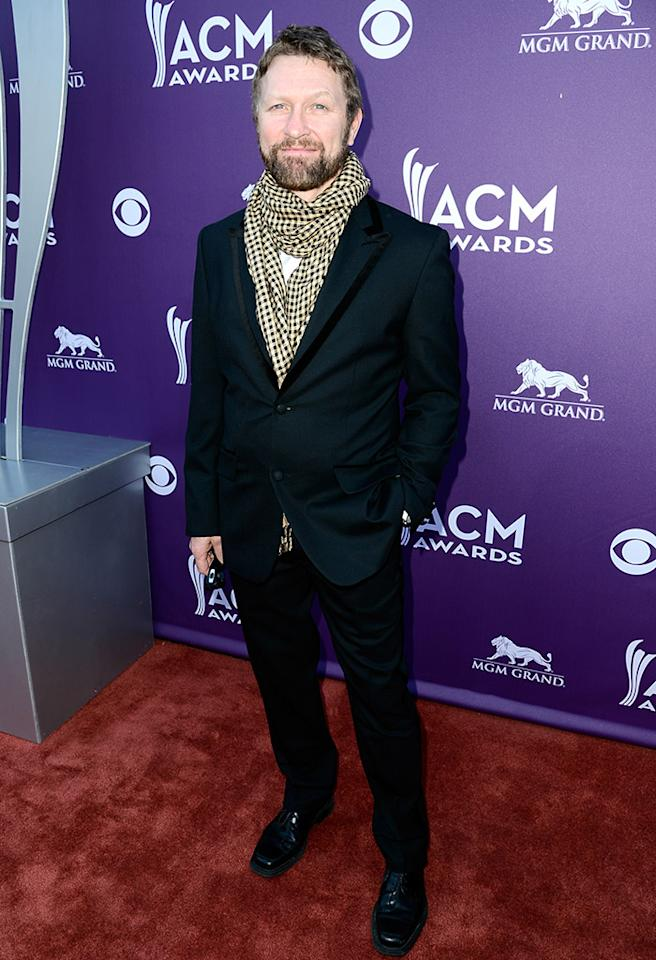 LAS VEGAS, NV - APRIL 07:  Singer Craig Morgan arrives at the 48th Annual Academy of Country Music Awards at the MGM Grand Garden Arena on April 7, 2013 in Las Vegas, Nevada.  (Photo by Frazer Harrison/ACMA2013/Getty Images for ACM)