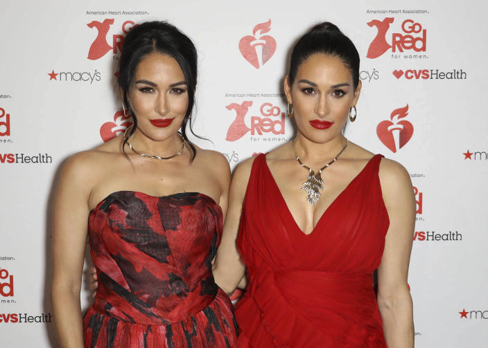 Brie Bella and Nikki Bella have given birth just one day apart. (zz/John Nacion/STAR MAX/IPx)