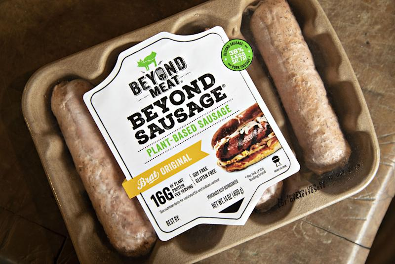 Beyond Meat raises $328m as appetite for vegan food grows