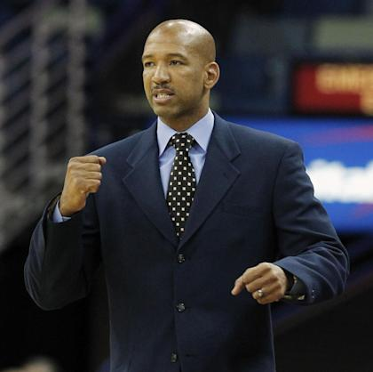 Monty Williams helped lead the Pelicans to two playoff berths. (AP)