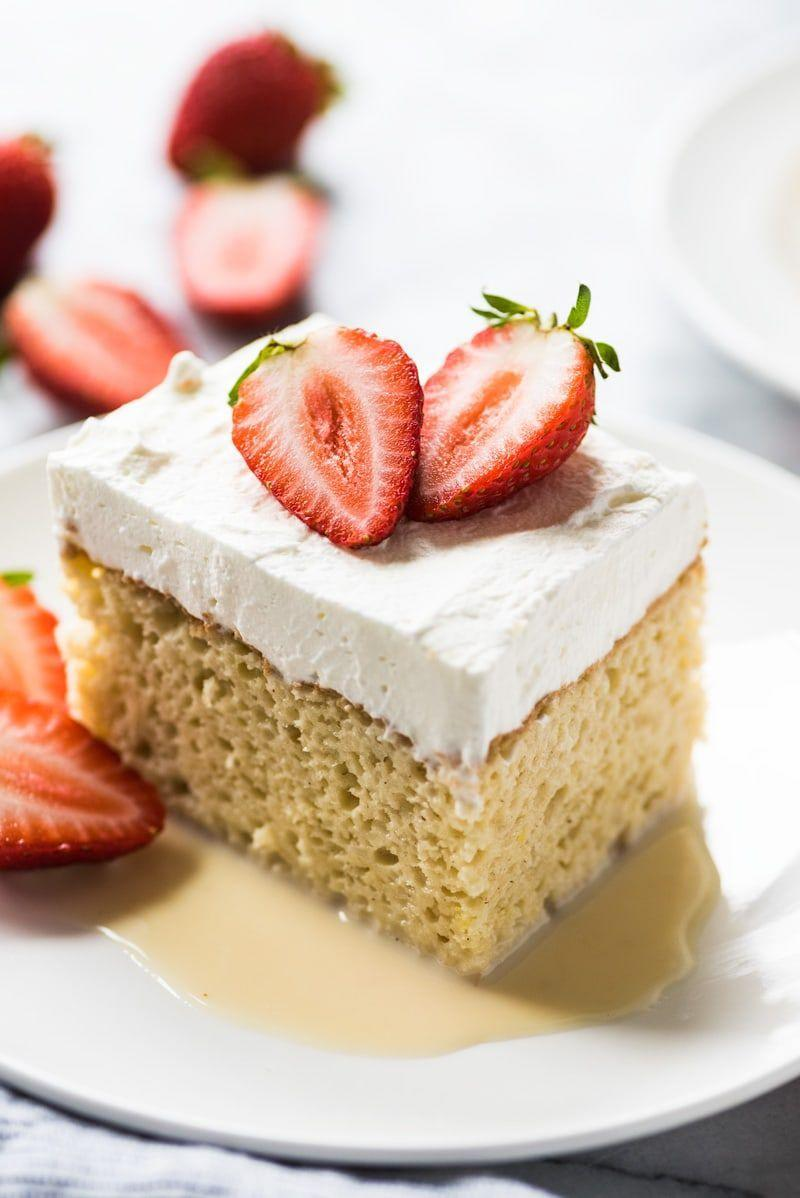 """<p>Tres leches is the perfect cake for just about any celebration! Top it with blueberries and strawberries for a red, white, and blue look.</p><p><strong>Get the recipe at <a href=""""https://www.isabeleats.com/tres-leches-cake/"""" rel=""""nofollow noopener"""" target=""""_blank"""" data-ylk=""""slk:Isabel Eats"""" class=""""link rapid-noclick-resp"""">Isabel Eats</a>.</strong></p><p><a class=""""link rapid-noclick-resp"""" href=""""https://go.redirectingat.com?id=74968X1596630&url=https%3A%2F%2Fwww.walmart.com%2Fsearch%2F%3Fquery%3Dbaking%2Bpan&sref=https%3A%2F%2Fwww.thepioneerwoman.com%2Ffood-cooking%2Fmeals-menus%2Fg32109085%2Ffourth-of-july-desserts%2F"""" rel=""""nofollow noopener"""" target=""""_blank"""" data-ylk=""""slk:SHOP BAKING PANS"""">SHOP BAKING PANS</a></p>"""