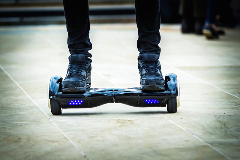 More Than Half A Million Hoverboards Have Been Recalled Over Fire Risk
