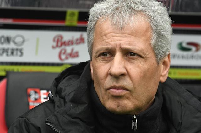 Former Nice coach Lucien Favre has been named the new coach of Borussia Dortmund (AFP Photo/FRED TANNEAU)