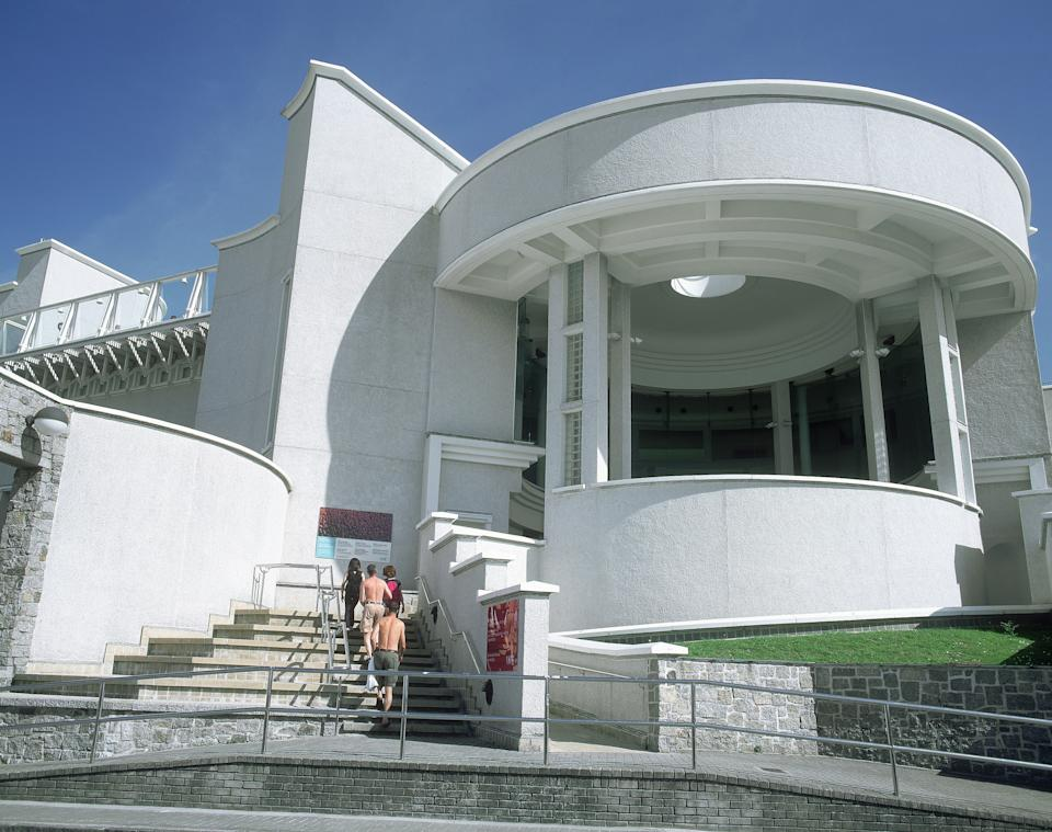 Tate Gallery, in St Ives, is one of only four Tate galleries in the UK. (Getty Images)